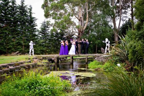 wedding with storm troopers